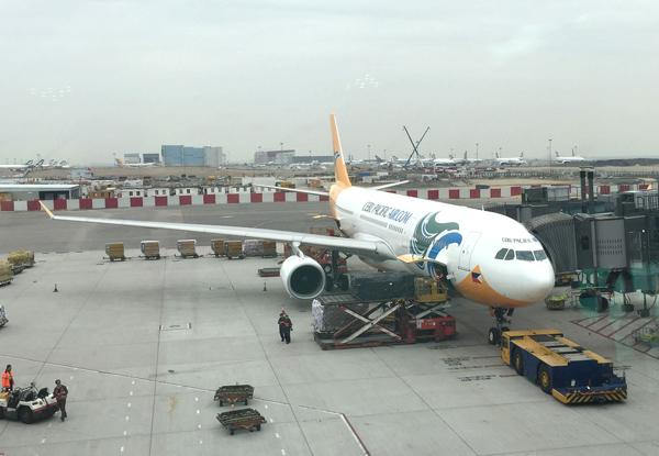 セブパシフィック航空のエアバスA330型機