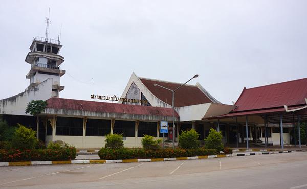 ルアンパバーン空港の旧ターミナル