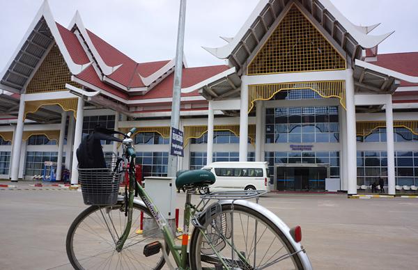 ルンパバーン空港の新ターミナル