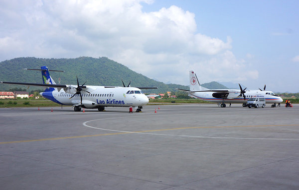 ATR72とMA60