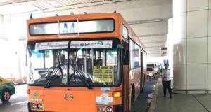 ドンムアン空港とカオサン通りを結ぶA4バス