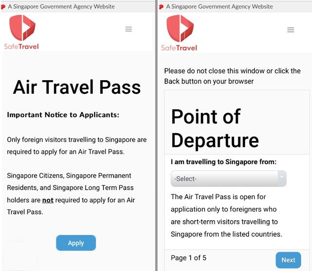 Air Travel Pass