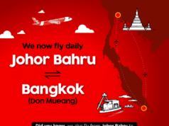 エアアジアグループ バンコク~ジョホールバル線