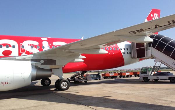 エアアジアのエアバスA320型機