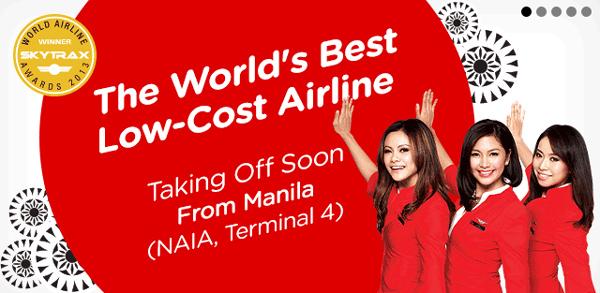 エアアジア・フィリピン、クラーク便を停止しマニラベースに