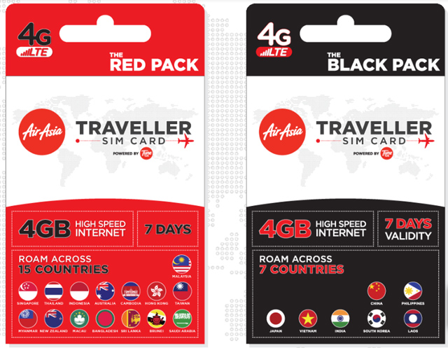 AirAsia Traveller SIM
