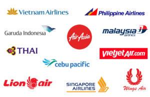 東南アジアの主要な航空会社