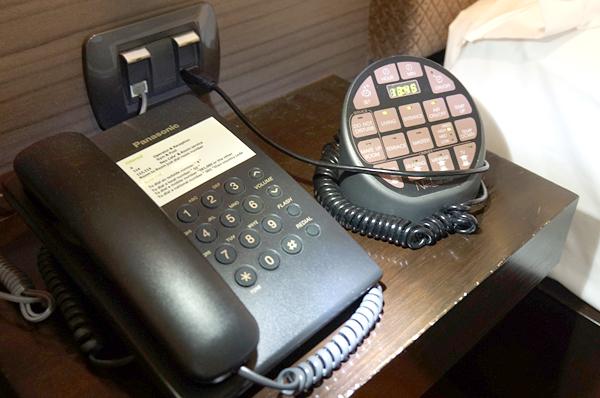 電話、コントロールパネル