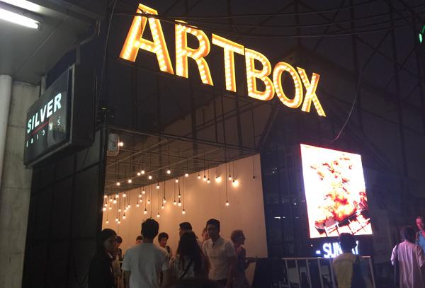 スクンビット・プロンポン地区で開催されたARTBOX