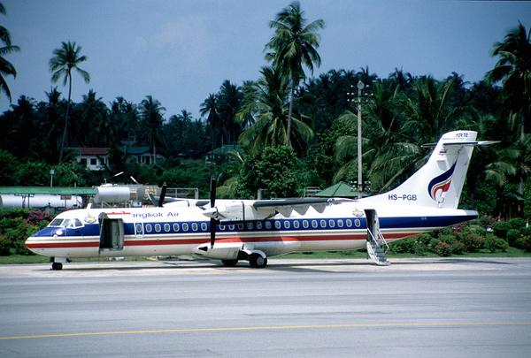 バンコクエアウェイズ ATR72-500