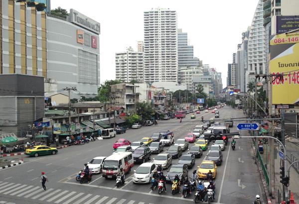 バンコク アソーク交差点