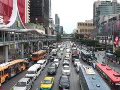 バンコクの街並み