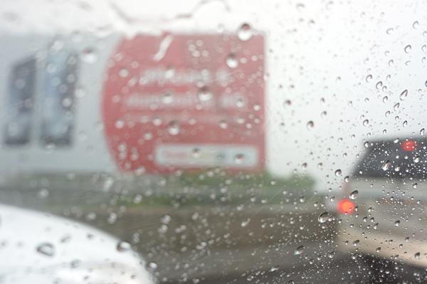 雨のバンコク