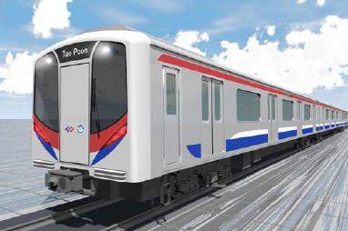 バンコク MRT パープルライン車両イメージ