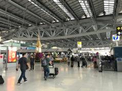 バンコクのスワンナプーム空港
