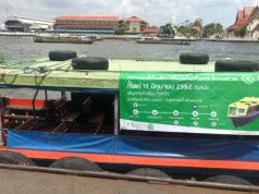 バンコクヤイ運河ボート