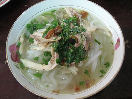 ベトナムの麺料理 バイン・カイン