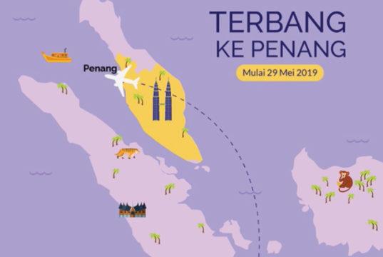 バティックエア、ジャカルタ~ペナン線に新規就航