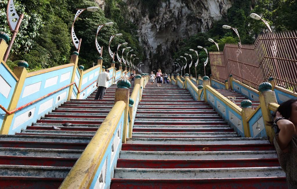 272段の階段