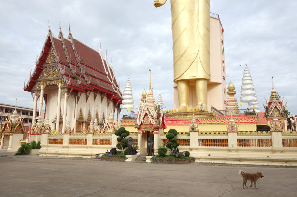 本堂と巨大仏像