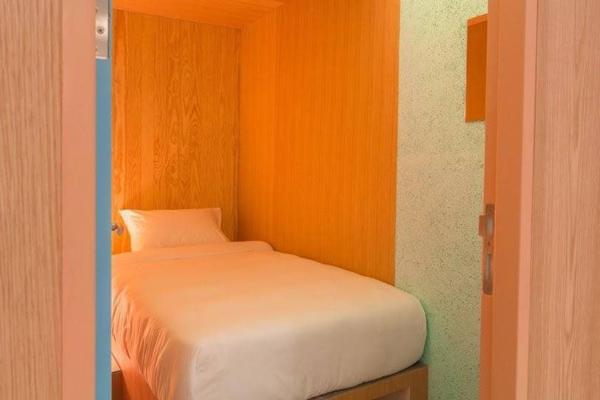 スワンナプーム空港内の簡易宿泊施設 Boxtel