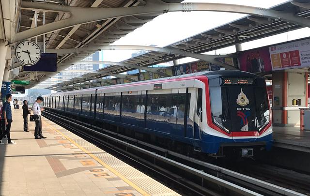 バンコクのBTSスクンビット線