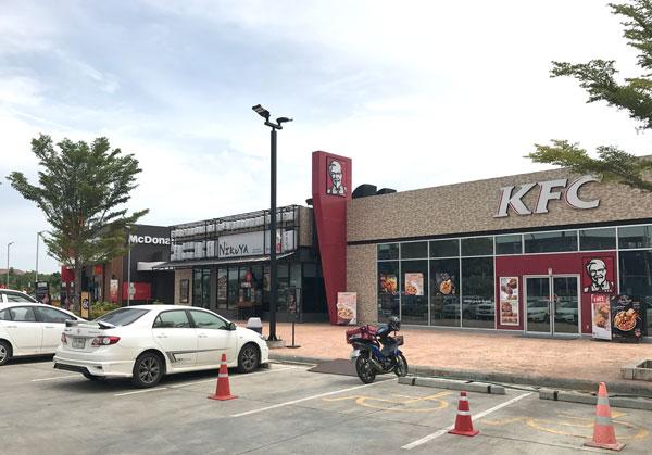 KFCとマクドナルド