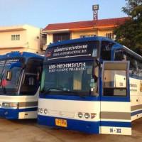 ルーイとルアンパバーンを結ぶ国際バス