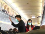 タイ・エアアジアの機内