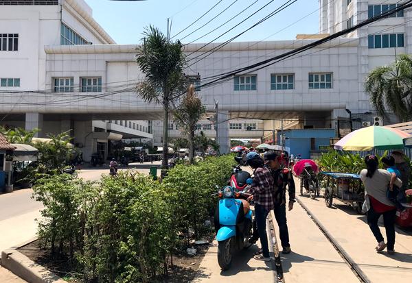 タイ・カンボジア国境付近