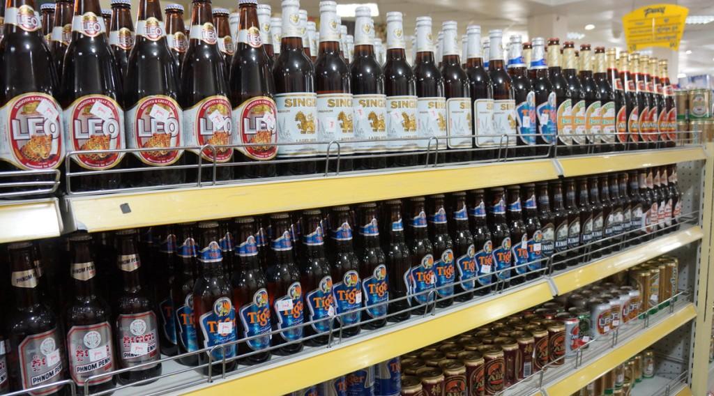 プノンペンのペンシルスーパーマーケット