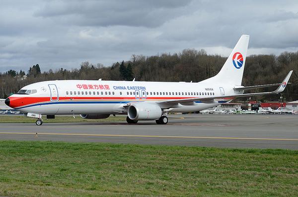 中国東方航空 ボーイング737-800