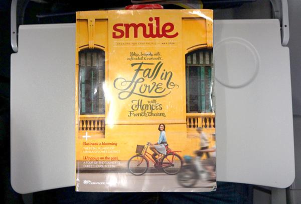 機内誌のスマイル smile