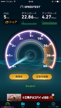 WiFi接続速度