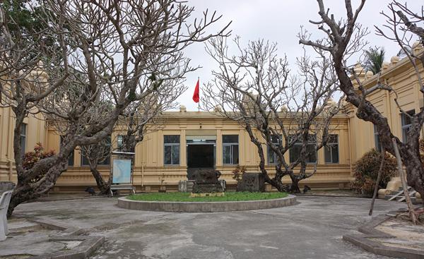 チャム博物館外観