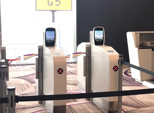 チャンギ空港ターミナル4の自動化ゲートの使い方