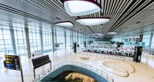 チャンギ空港ターミナル4 出発フロアの様子