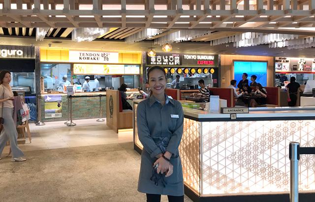 ターミナル2の日系飲食店エリア「SORA」