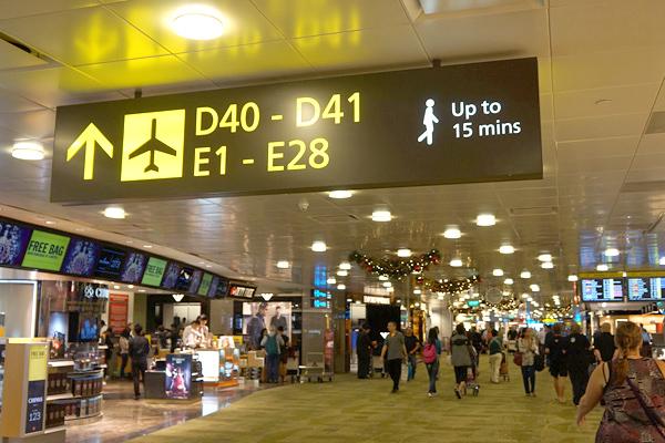 チャンギ国際空港 ターミナル2
