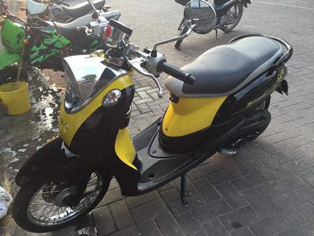 チェンマイのレンタルバイク