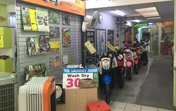 チェンマイのレンタルバイク屋