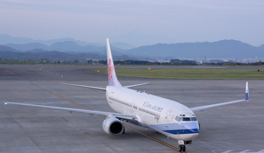 チャイナエアラインのボーイング737-800型機