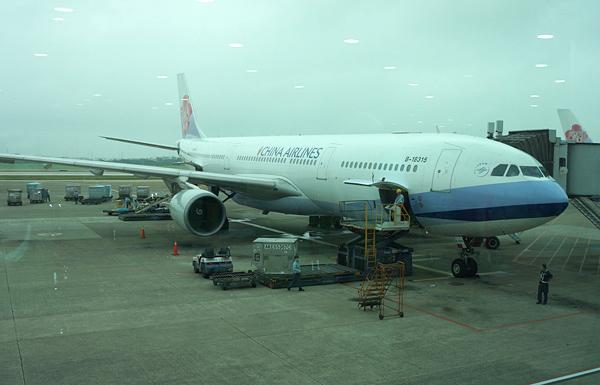 チャイナエアラインのエアバスA330-300