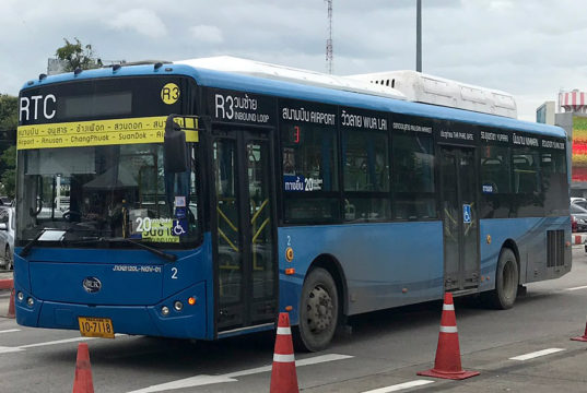 空港~市内中心部の路線バス