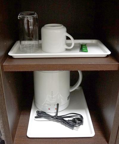 お茶、電気ケトル