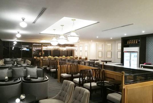 ドンムアン空港国際線ターミナル内のコーラルラウンジ