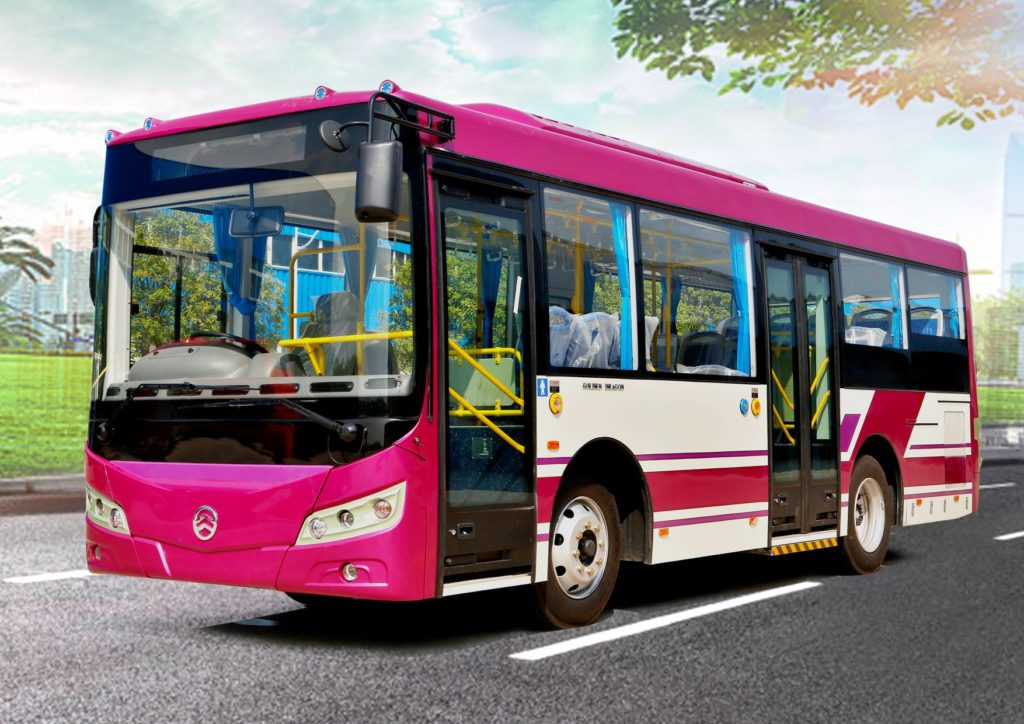 チェンライの路線バス