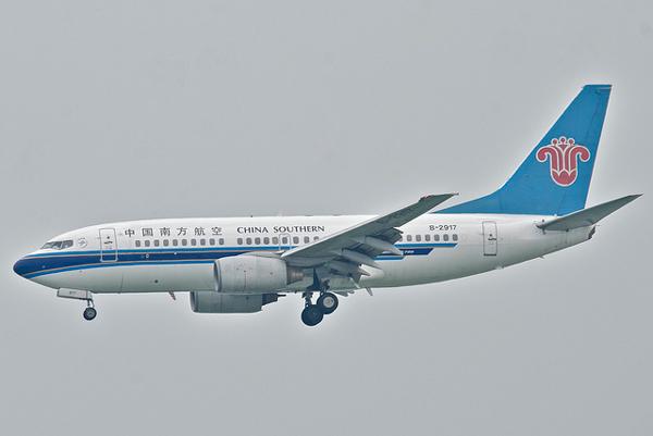 中国南方航空 ボーイング737-700型機