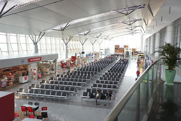 ダナン空港の国内線ターミナル