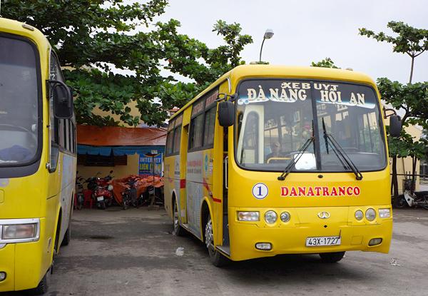 ダナン~ホイアン間の路線バス